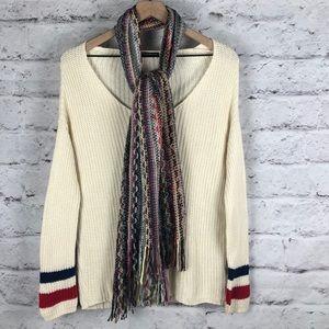 NWOT Brandy Melville Oversized Sweater & Scarf M